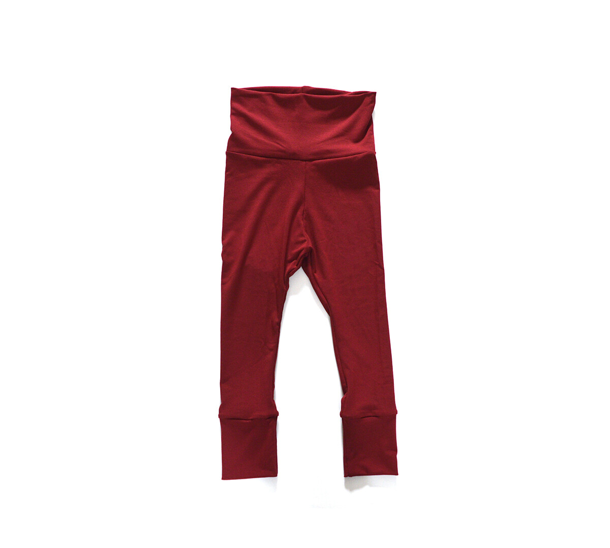 Little Sprout Pants™ in Brick | Grow With Me Leggings - Made with Bamboo!