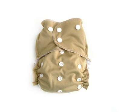 Easy Peasies® One Size Reusable Cloth Pocket Diaper - Sandy