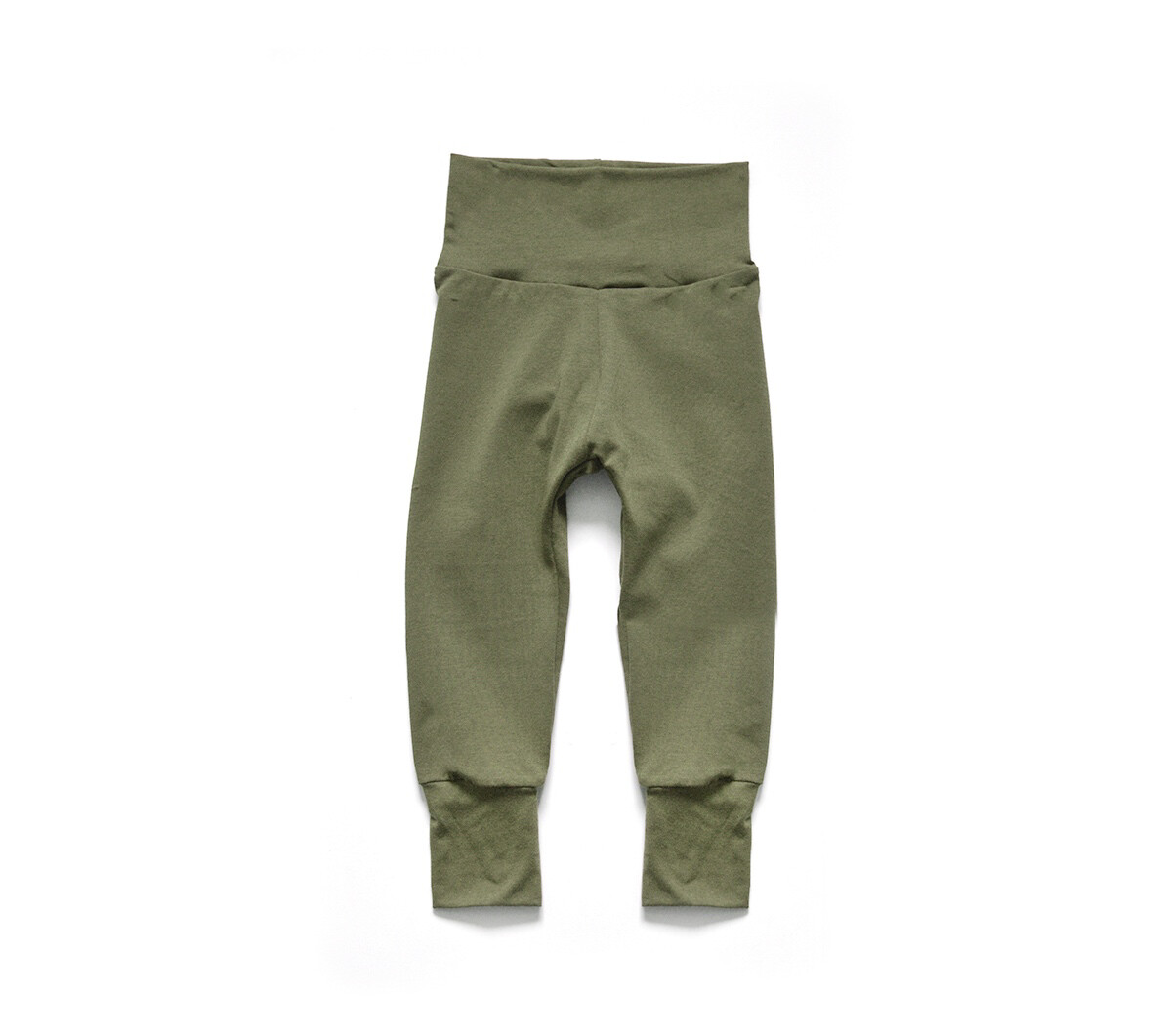 Little Sprout Pants™ in Olive | Grow With Me Leggings - Bamboo