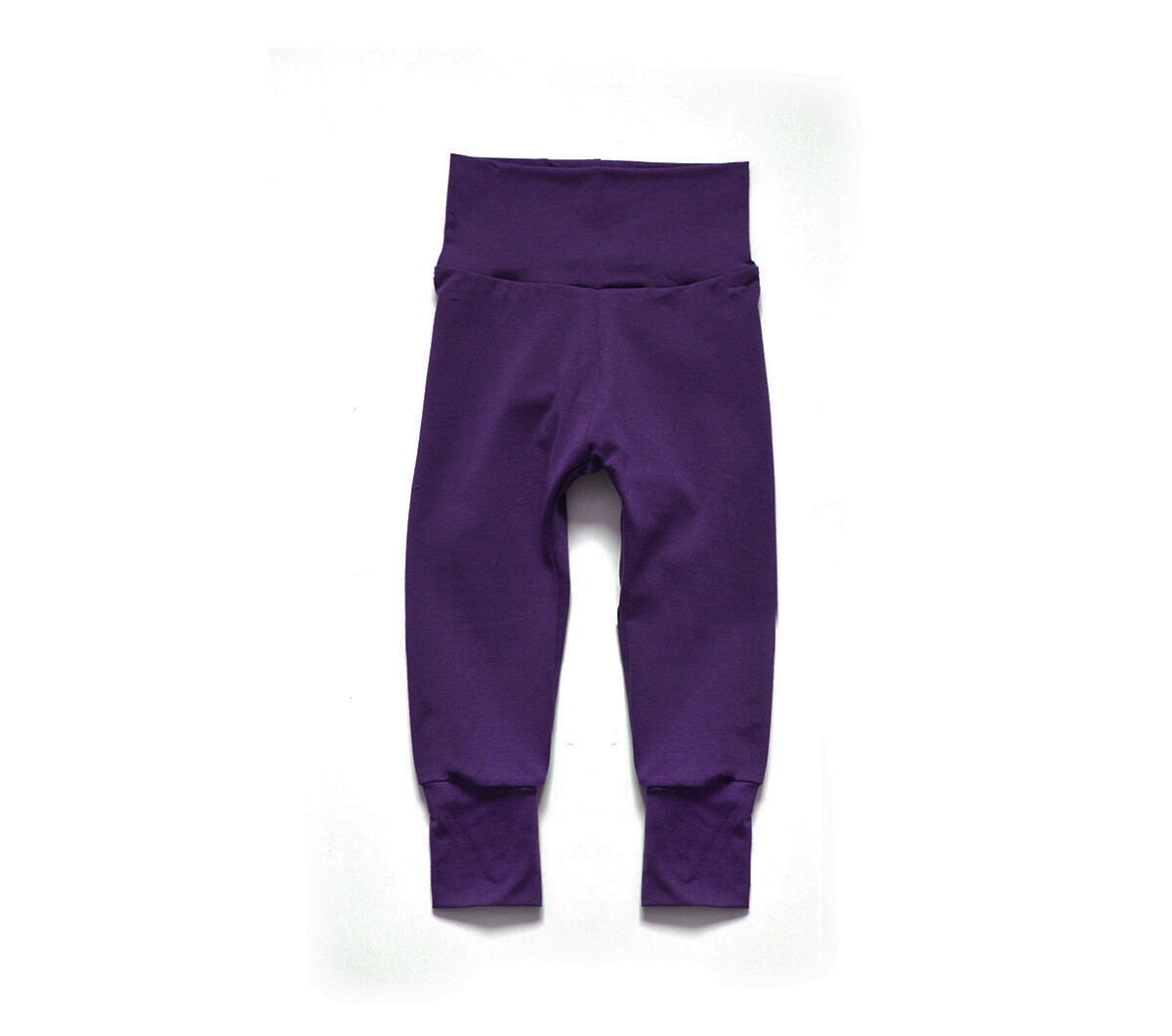 Little Sprout Pants™ in Plum | Grow With Me Leggings - Bamboo