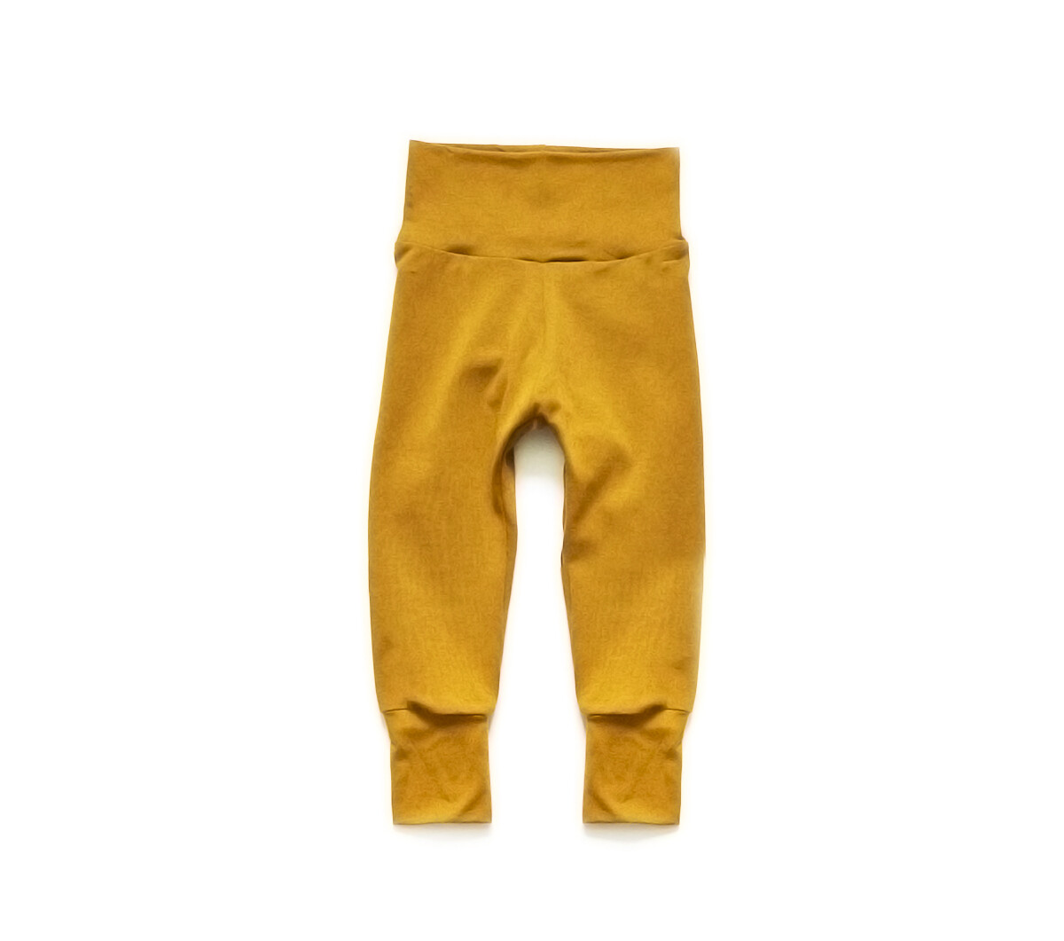 Little Sprout Pants™ in Harvest Gold | Grow With Me Leggings - Cotton
