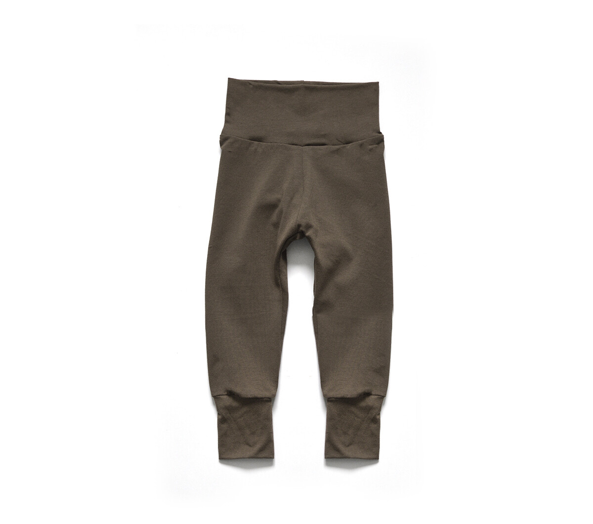 Little Sprout Pants™ in Earth   Grow With Me Leggings - Bamboo