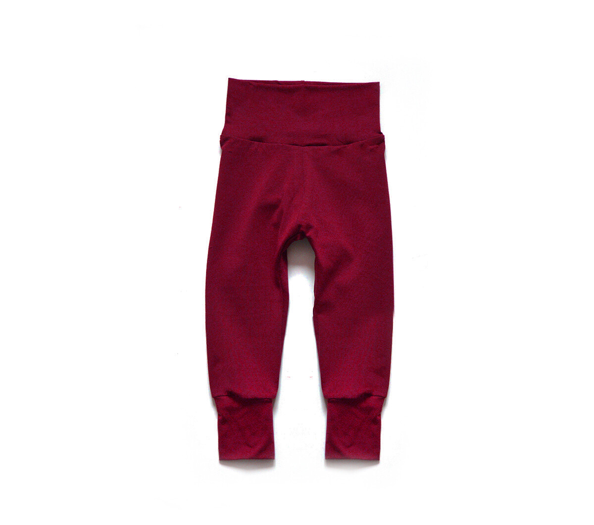 Little Sprout Pants™ in Brick | Grow With Me Leggings - Bamboo