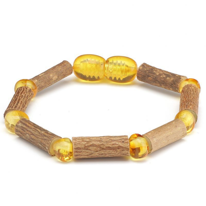 Baltic Pines™  CLEARANCE Hazelwood & Baltic Amber Teething Bracelets 00258