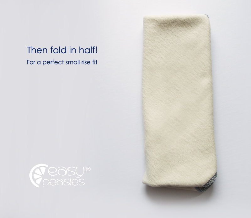 1 Ply Easy Peasies® Bamboo Trifold - The Best™ Cloth Diaper Insert