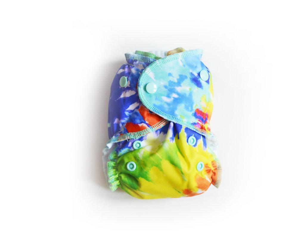 Mini Pocket™ Cloth Diapers - Ice dye 00294