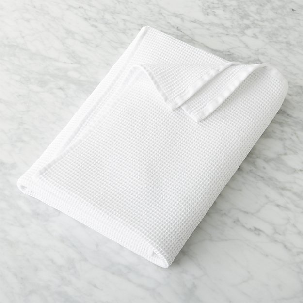 Set of 6 Simply Good™ Egyptian Cotton Waffle Weave Bath Towels 00366