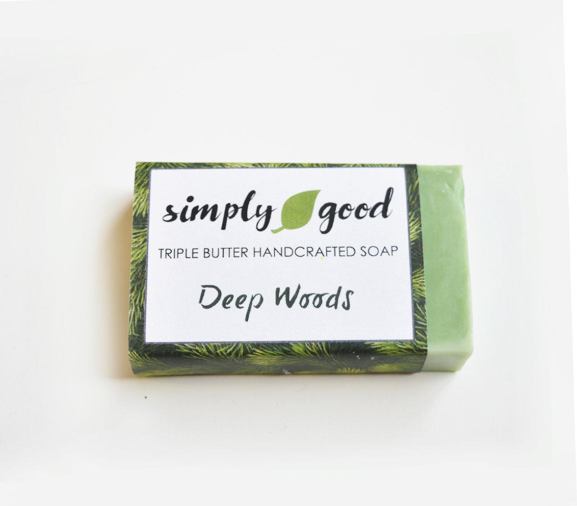 Deep Woods Simply Good™ Triple Butter Vegan Soap Bar 00386