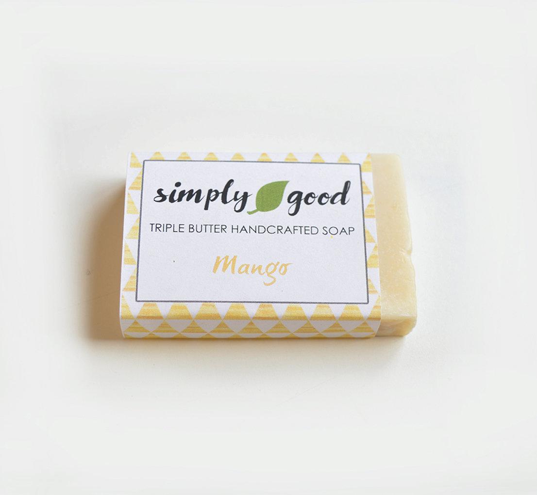 Mango Simply Good™ Triple Butter Vegan Soap Bar 00390
