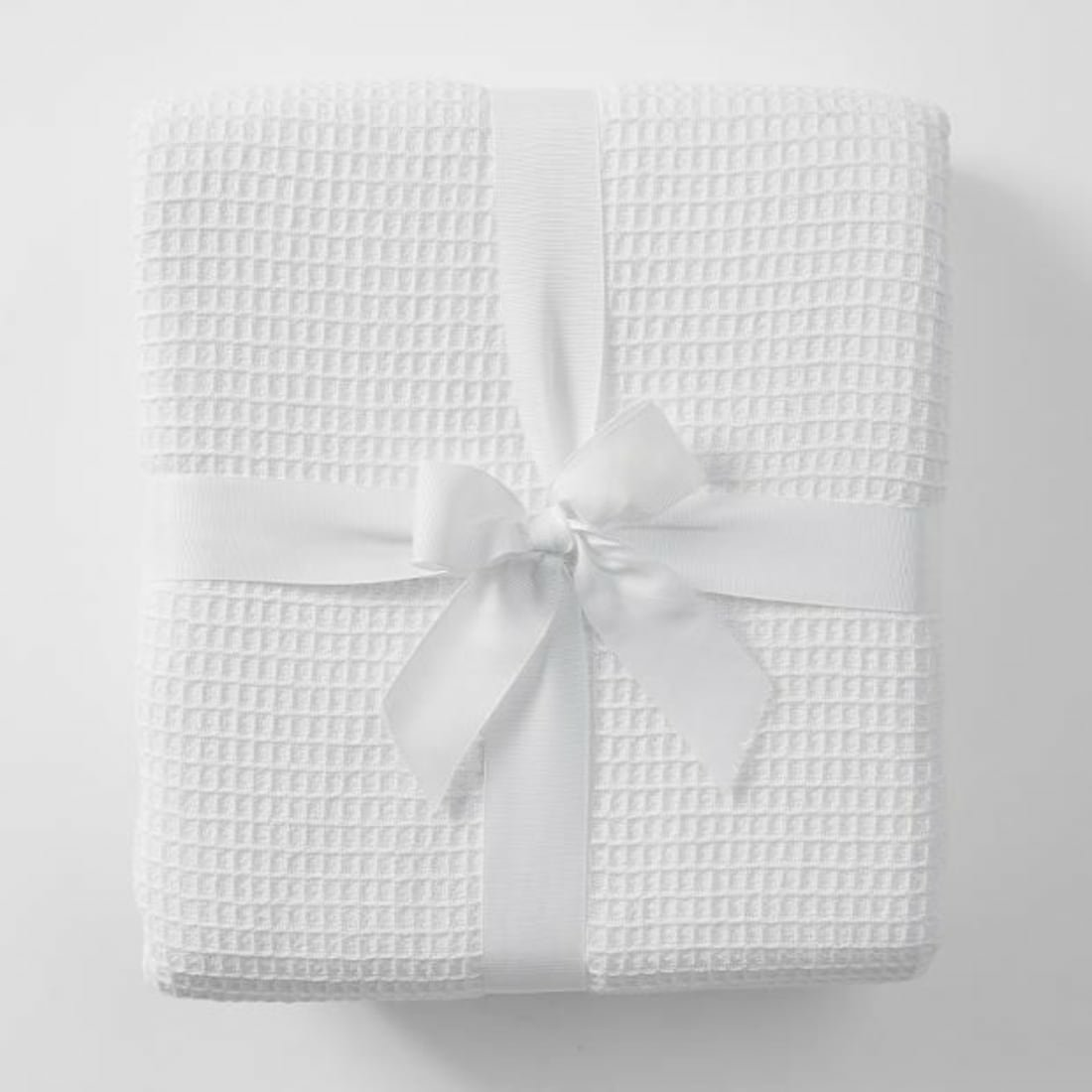 Set of 3 Simply Good™ Egyptian waffle cotton swaddle blankets 00409