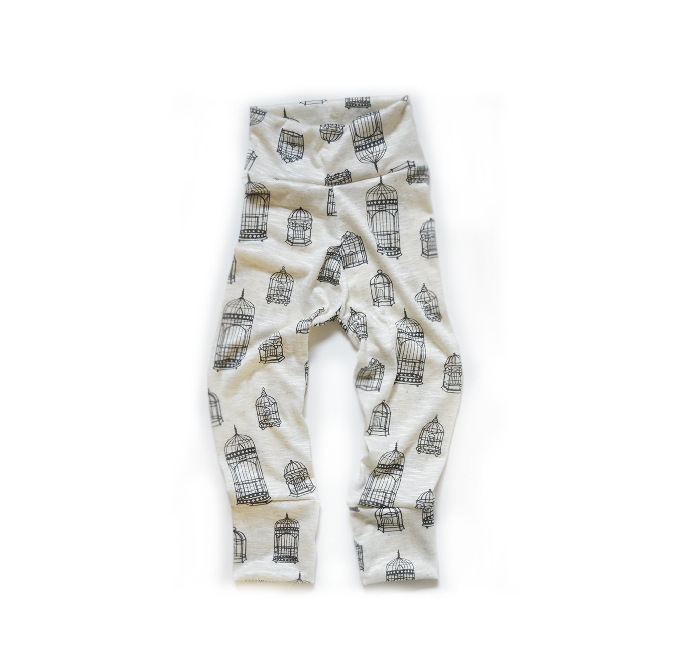 G3 Little Sprout Pants™ Bird Cage - Stretchy Jersey 00368