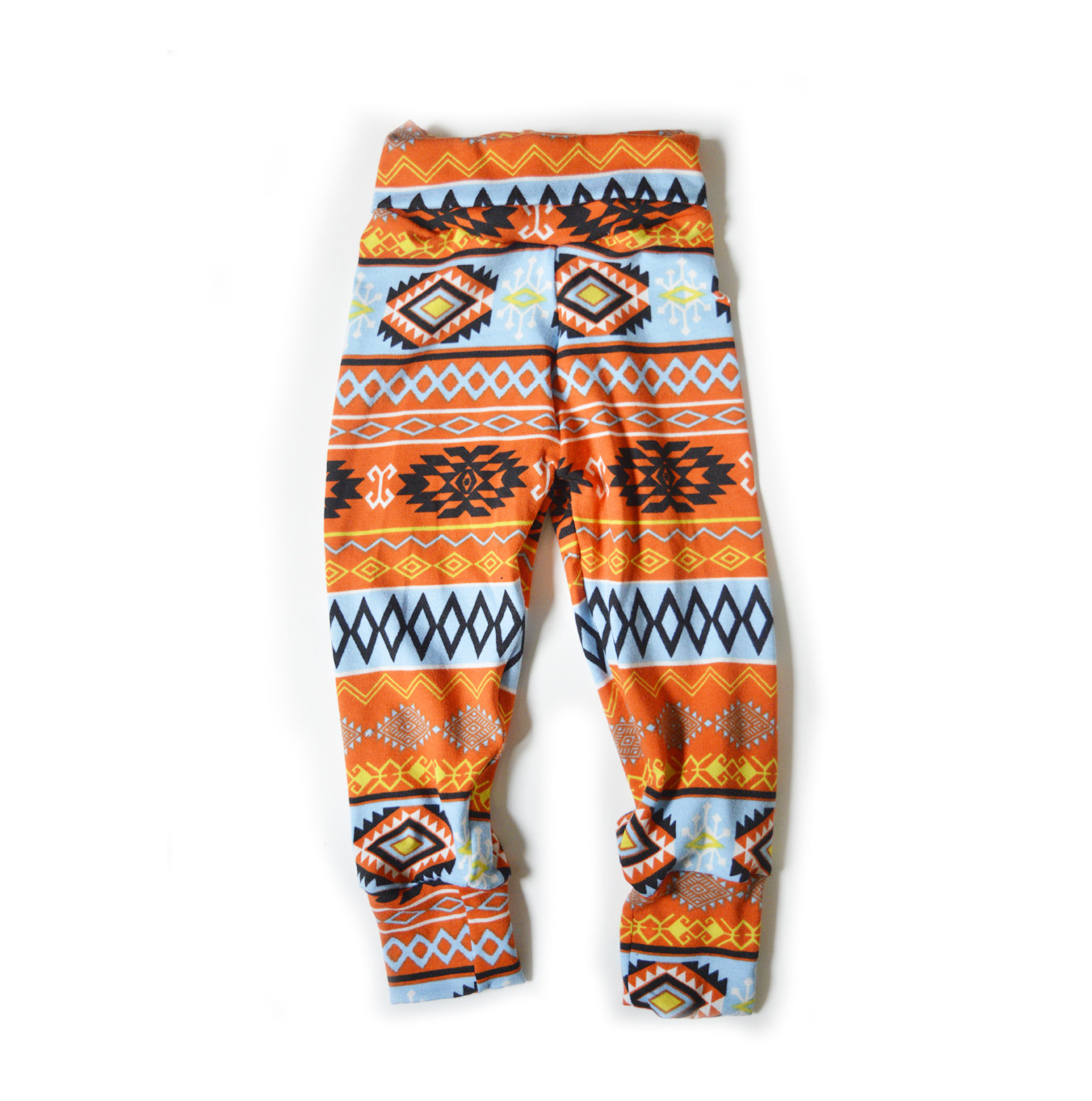 Little Sprout Pants™ Vibrant Tribal - Cotton Lycra Slim Fit 00426