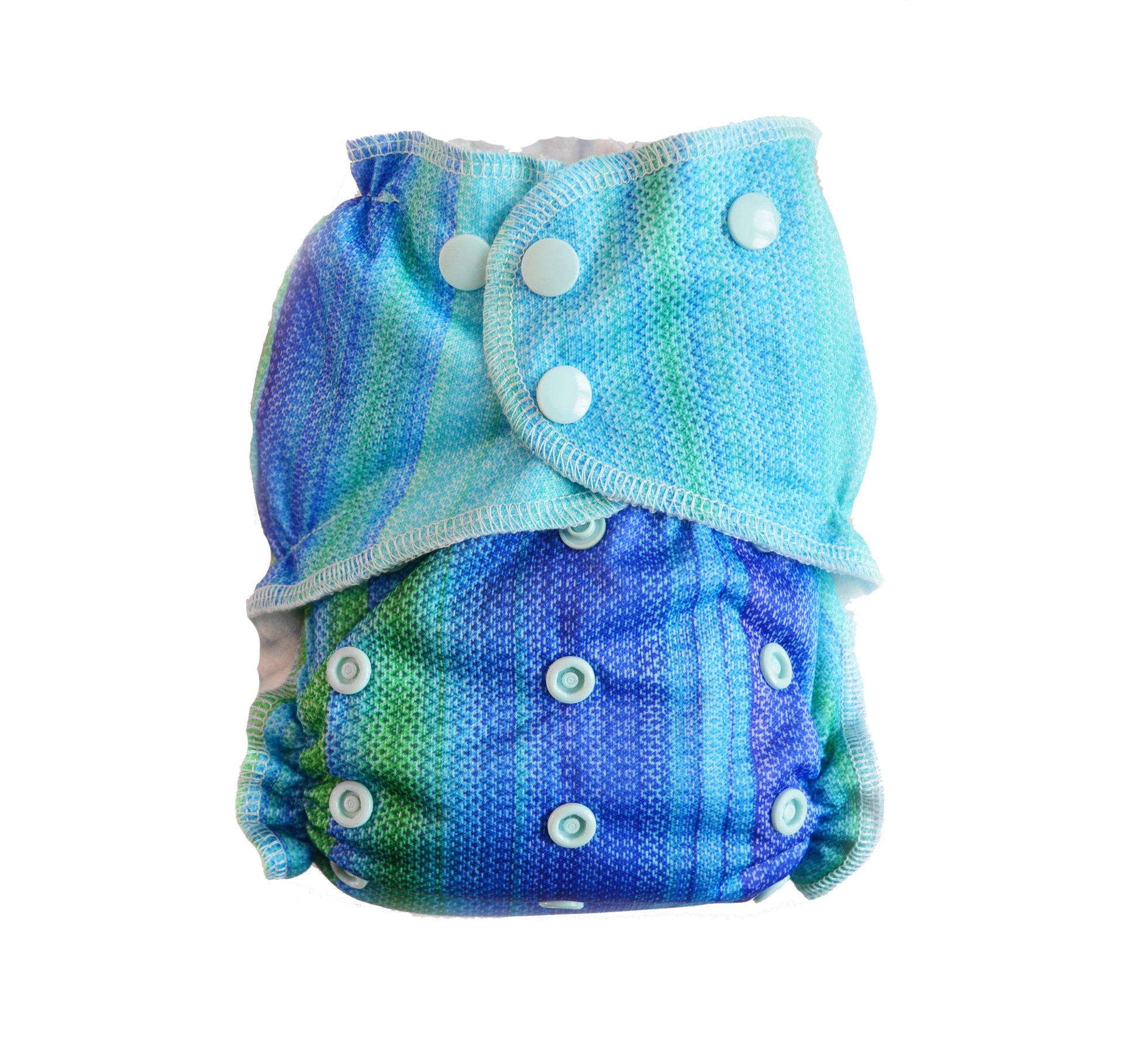 Easy Pocket™ One Size Cloth Diaper - Ocean 00437