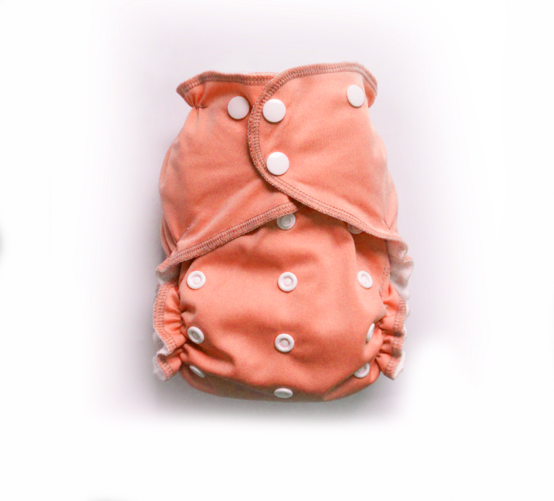 Easy Pocket™ One Size Cloth Diaper - Peachy 00450