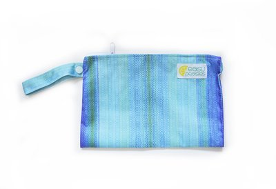 Easy Peasies® Mini Reusable Wetbag With Strap - Ocean