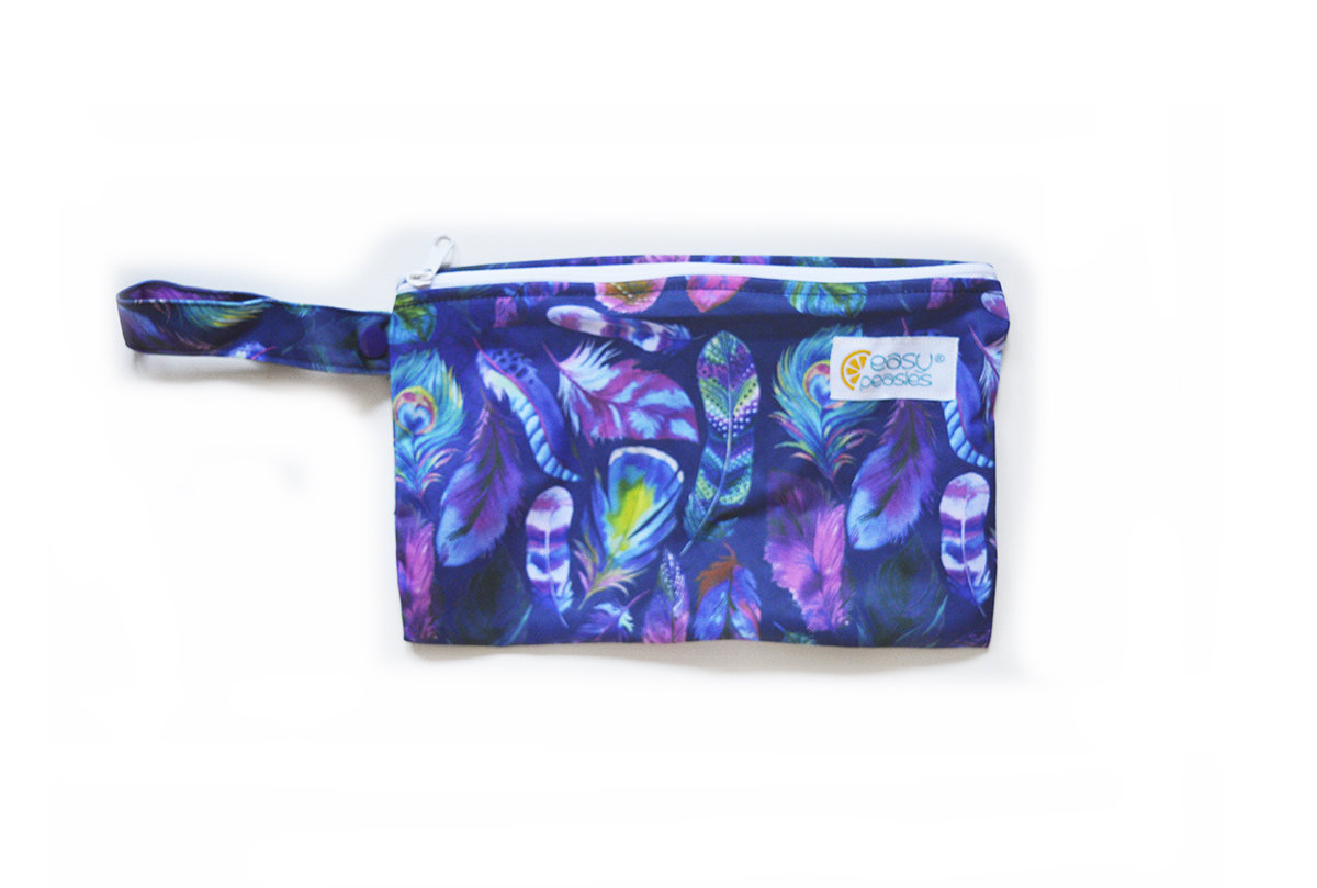 Easy Peasies® Mini Reusable Wetbag With Strap - Bohemian Nights 00468