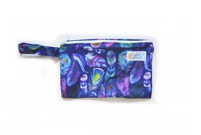 Easy Peasies® Mini Reusable Wetbag With Strap - Bohemian Nights