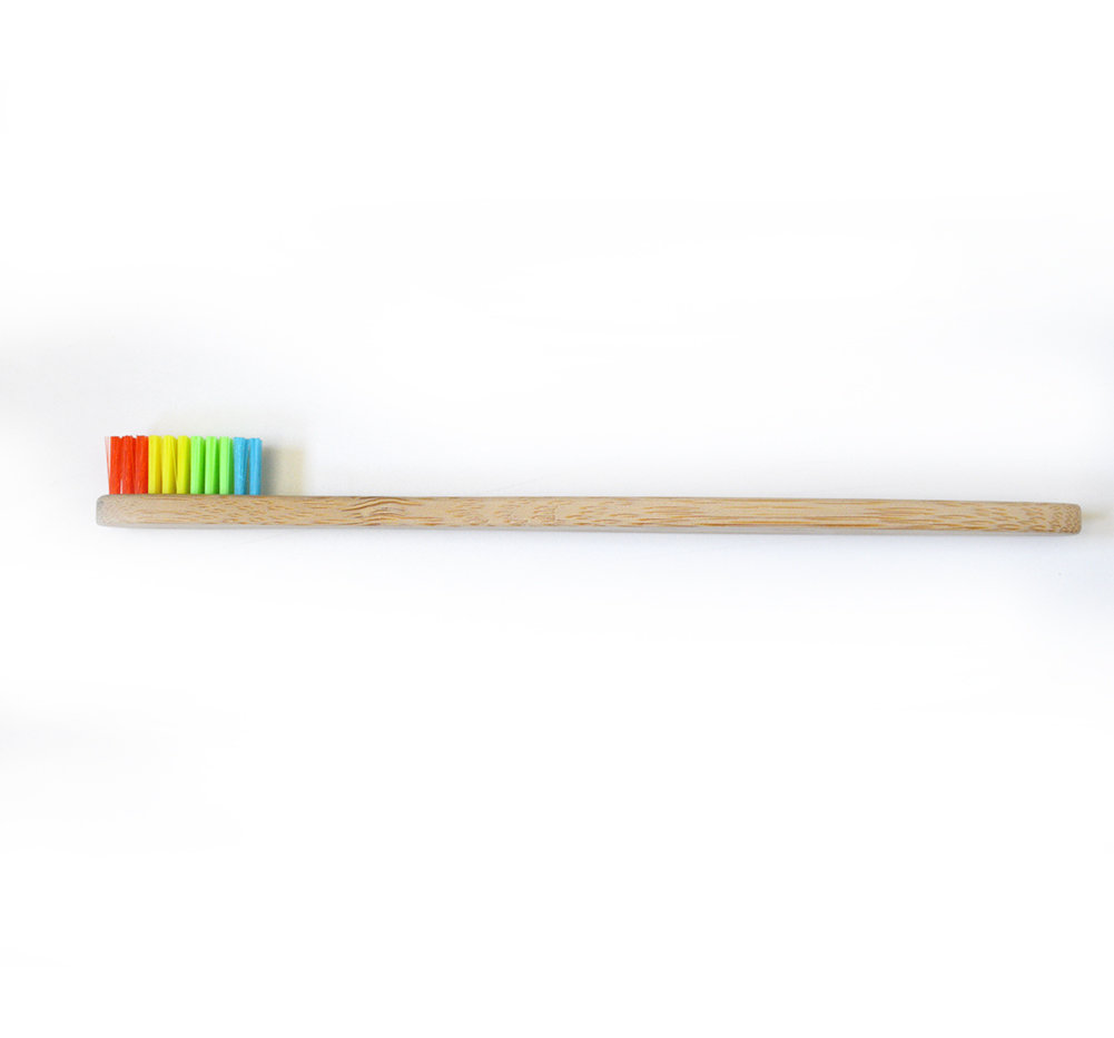 Simply Good™ Bamboo Toothbrush - Rainbow 00473
