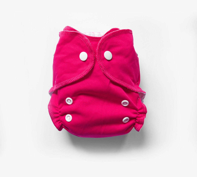 Mini Pocket™ Cloth Diapers - Raspberry 00487