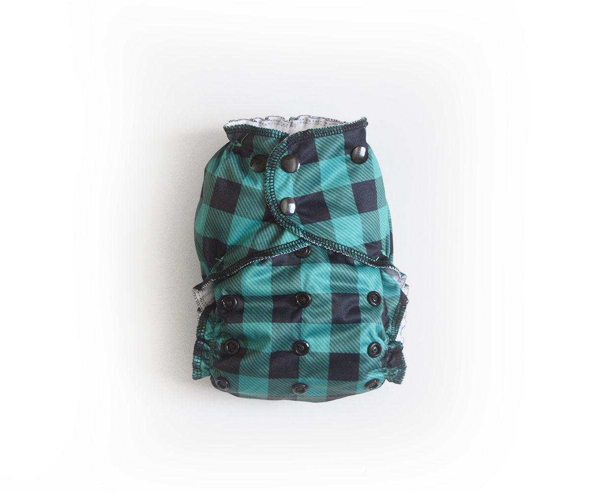 Easy Pocket™ One Size Cloth Diaper - Forest 00443