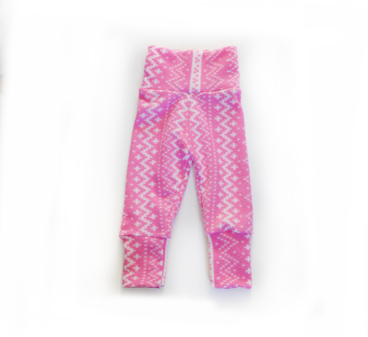 Mini Sprout Pants™  Pink Winter Stretch Fleece 00505