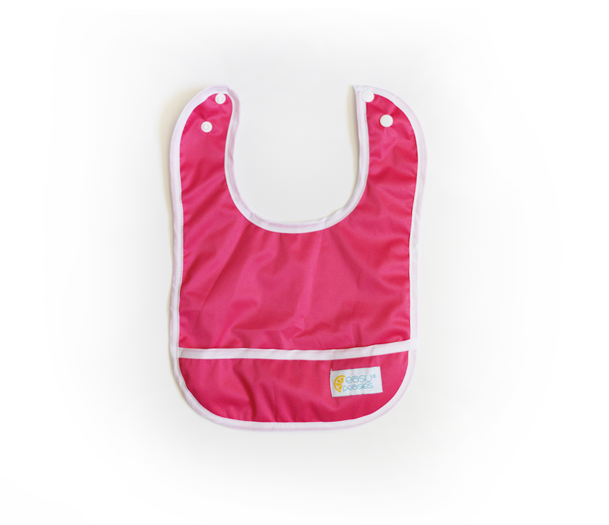 Set of 2 Easy Peasies® Stay Clean Bibs - Raspberry 00511