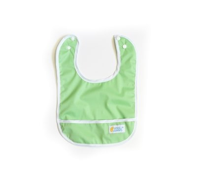 Set of 2 Easy Peasies® Stay Clean Bibs - Charlie