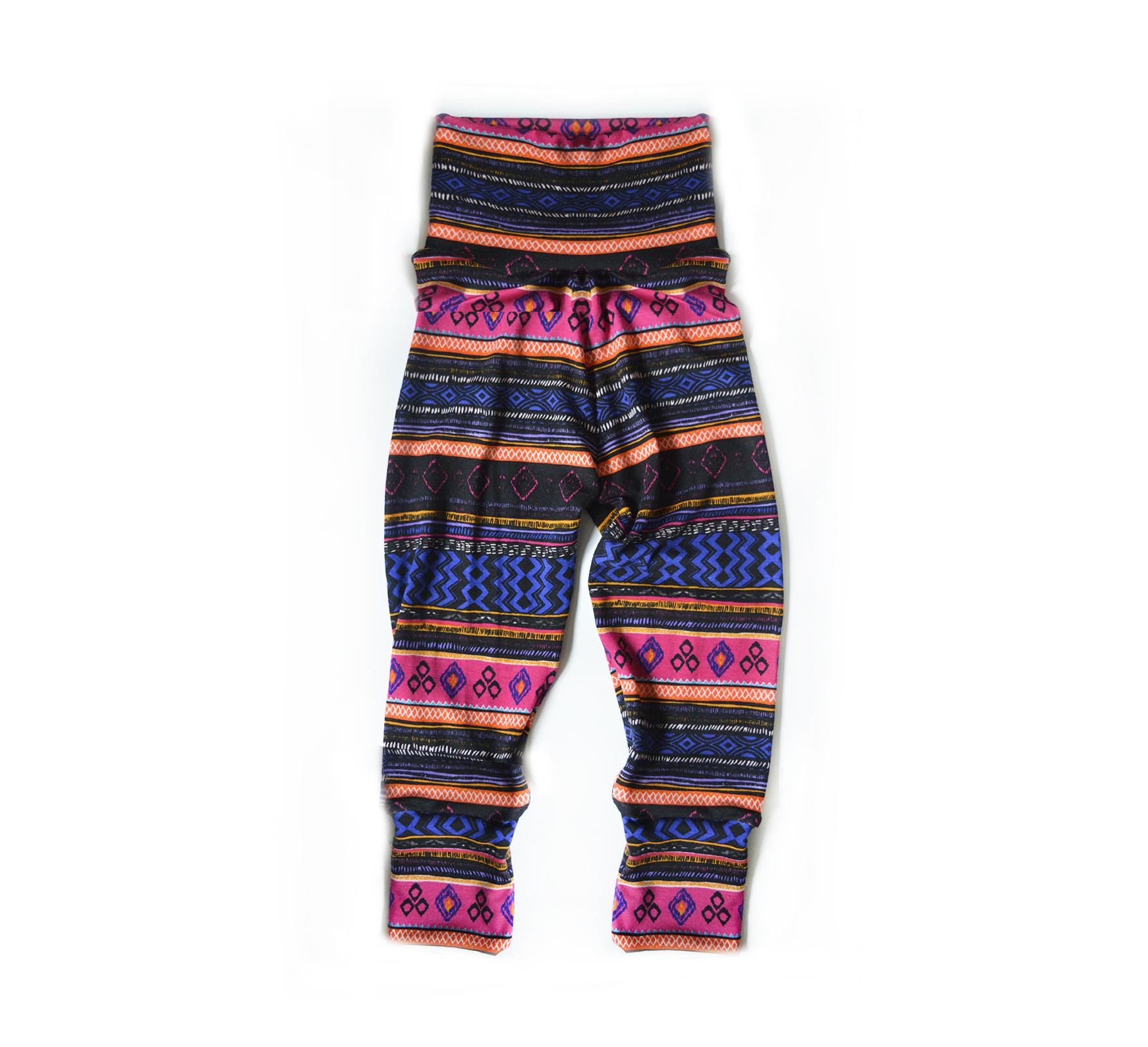 Little Sprout Pants™ Striped Aztec 00536