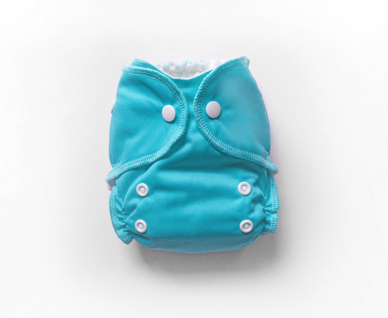 Mini Pocket™ Cloth Diapers - Fundy Sky 00553
