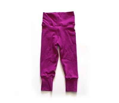 Little Sprout One-Size Pants™ Fuchsia - Cotton