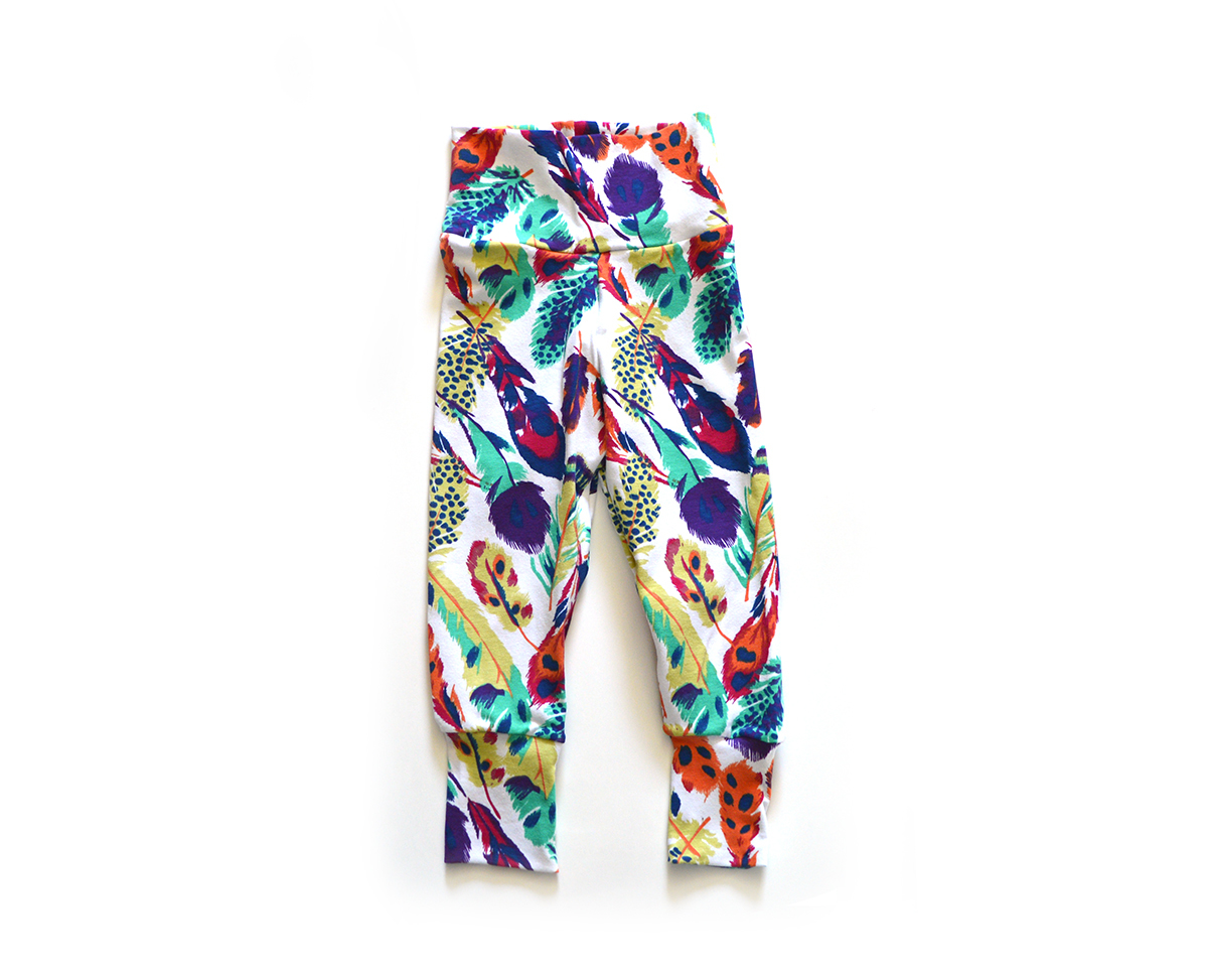 Little Sprout Pants™ Feathers 00585