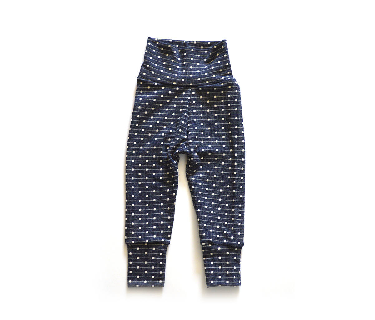 Little Sprout Pants™ Embroidered Denim - French Terry 00589