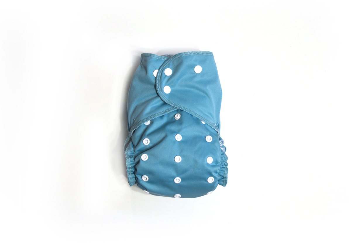 Jewel Ready-Use™ / Dry-Nights™ AIO Cloth Diaper  - One Size 00604