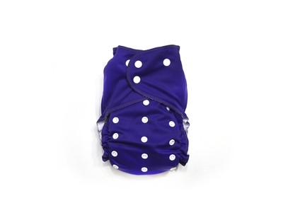 Grape Ready-Use™ / Dry-Nights™ AIO Cloth Diaper  - One Size