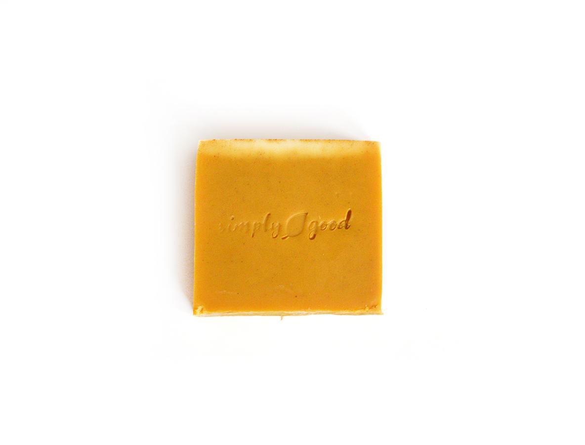 Patchouli Spice Simply Good™ Triple Butter Vegan Soap Bar 00552