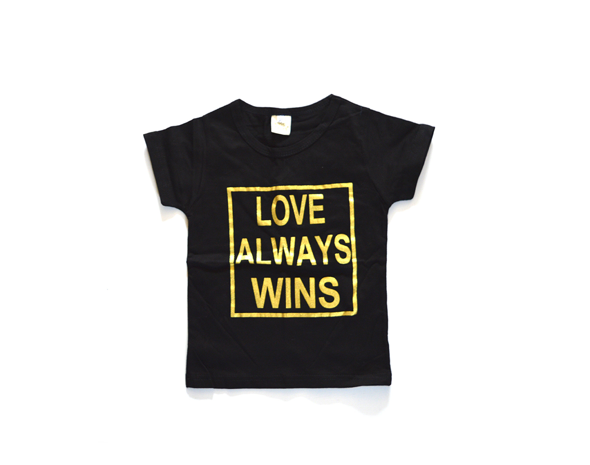 Kid's Tales T Shirt Love Always Wins 00646