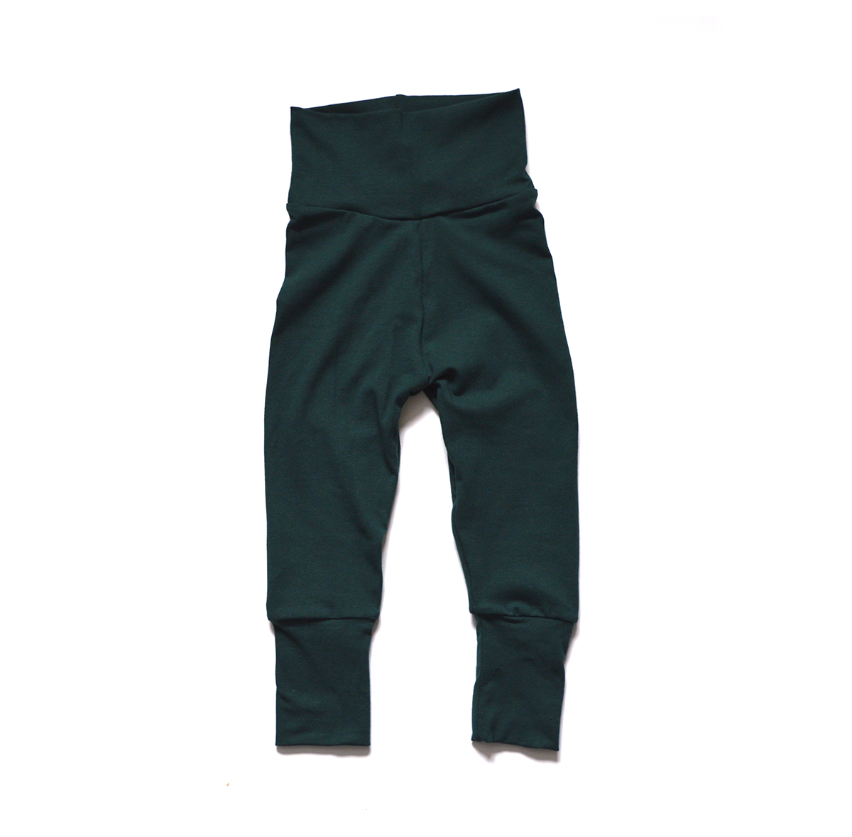 Little Sprout Pants™ Olive Rib Knit SECONDS 00683