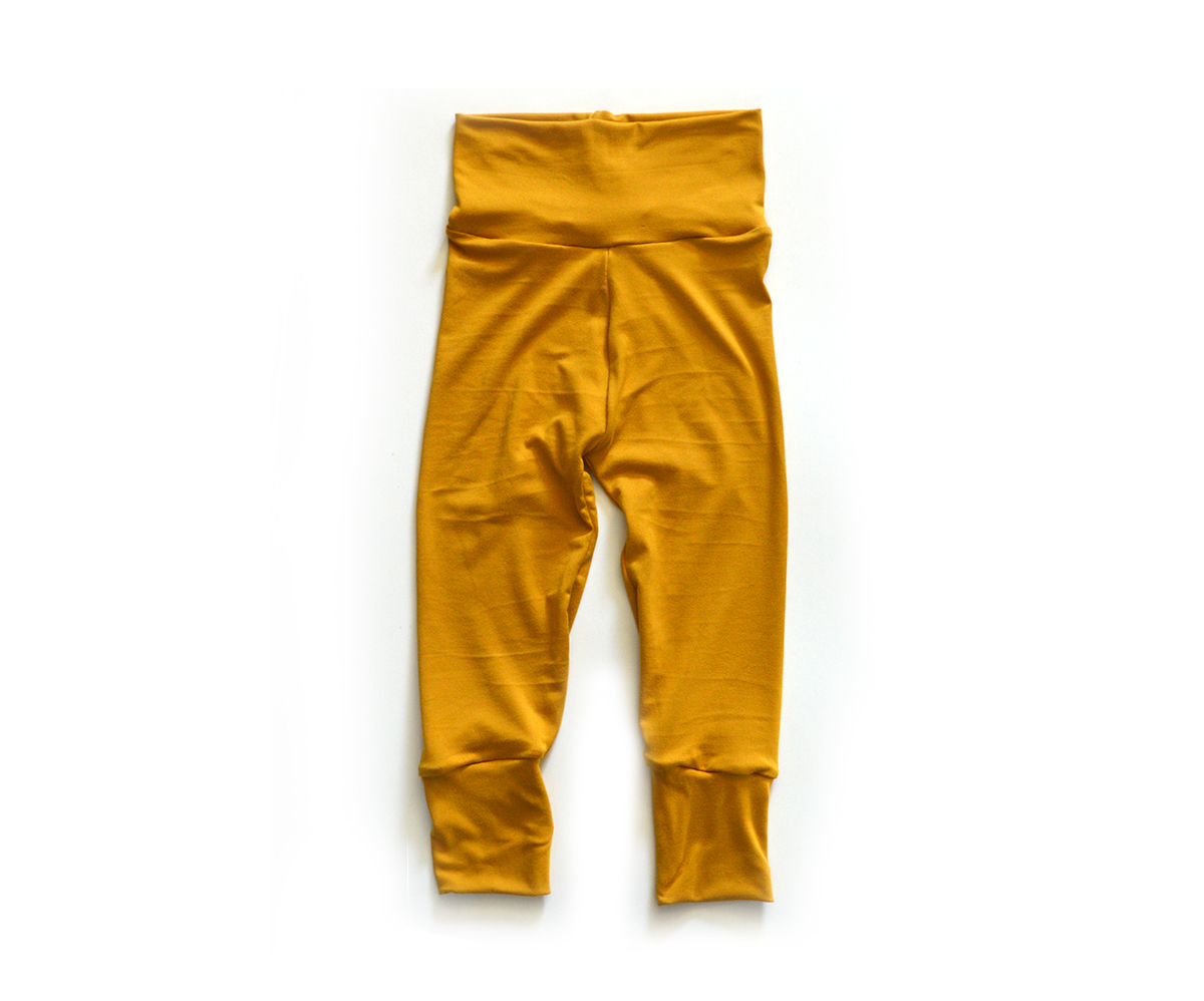 Little Sprout Pants™ Mustard - Slim Fit 00687