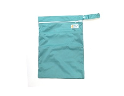 Easy Peasies® Dual Zipping Pocket Wetbag Travel Sack - Jewel