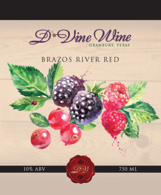 Brazos River Red - (Mixed Berry Blend)