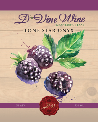 Lone Star Onyx – (Blackberry Merlot)
