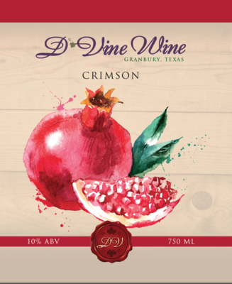 Crimson - (Pomegranate Red Zinfandel)
