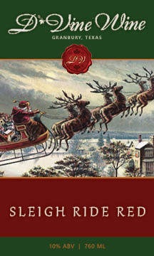 Sleigh Ride Red