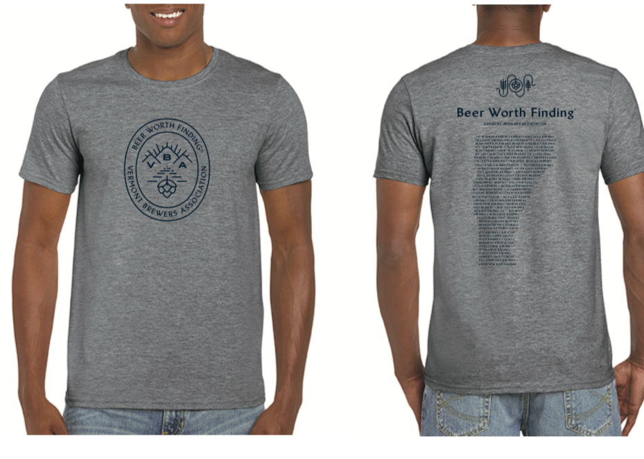 Beer Worth Finding T-Shirt Gray 00025