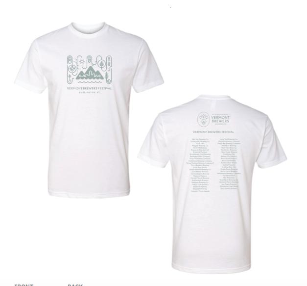 Vermont Brewers Festival 2019 T-Shirt