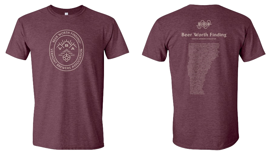 Beer Worth Finding T-Shirt Heather Maroon