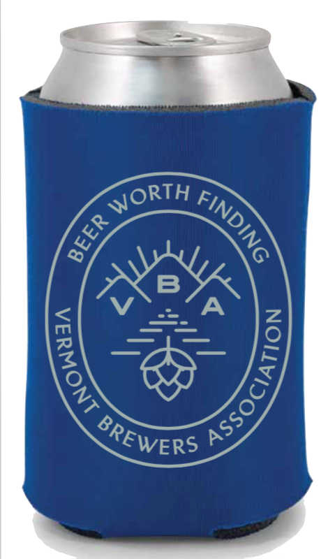 VBA Branded Can Holder Royal Blue