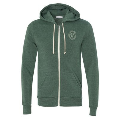 Rocky Eco-Fleece Zip Hoodie Dusty Pine