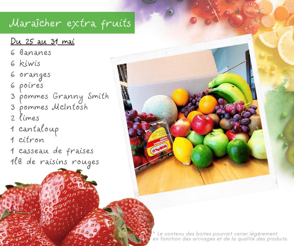 Maraîcher Extra Fruits