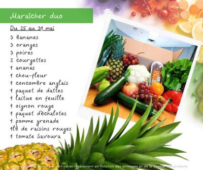 Panier Légumes Duo